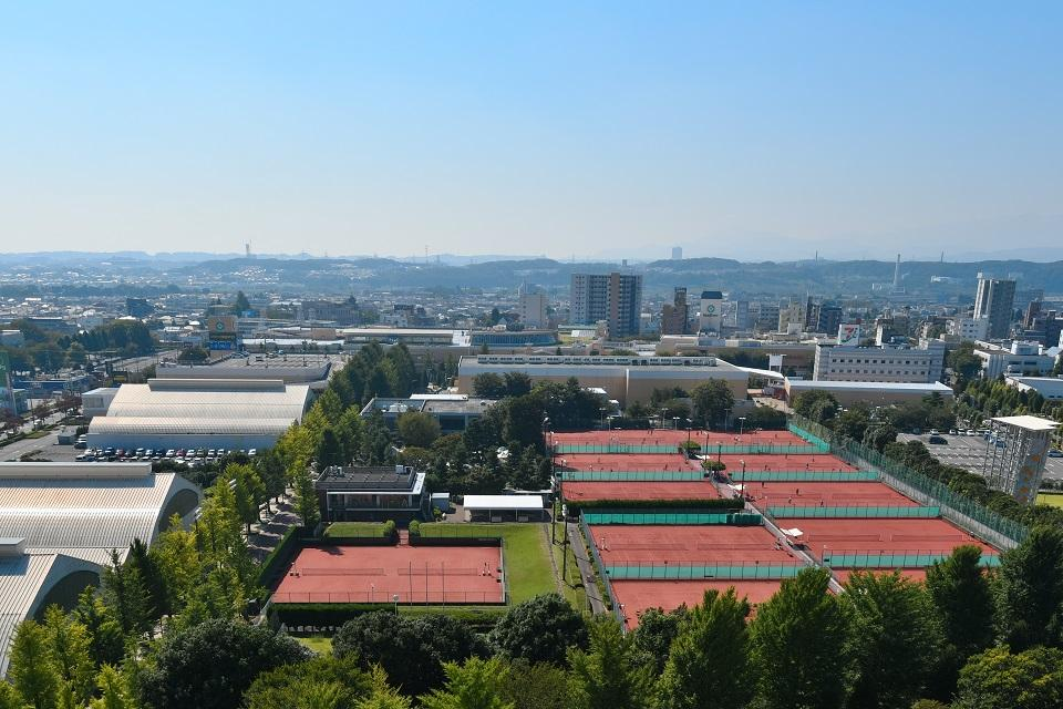 昭和の森テニスセンター